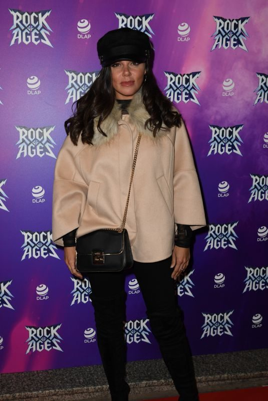 FAYE BROOKES at Rock of Ages Press Night in Manchester 09/25/2018