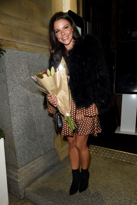 FAYE BROOKES Celebrates Her 29th Birthday in Manchester 09/04/2018