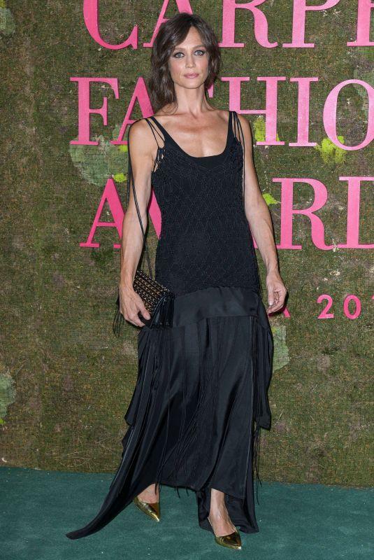 FRANCESCA CAVALLIN at Green Carpet Fashion Awards in Milan 09/23/2018