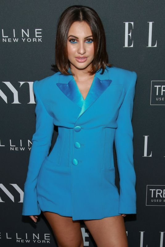 FRANCIA RAISA at E!, Elle and IMG Party in New York 09/05/2018