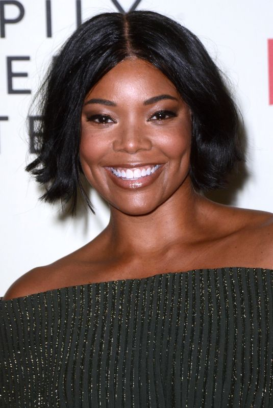 GABRIELLE UNION at Nappily Ever After Special Screening in Los Angeles 09/20/2018
