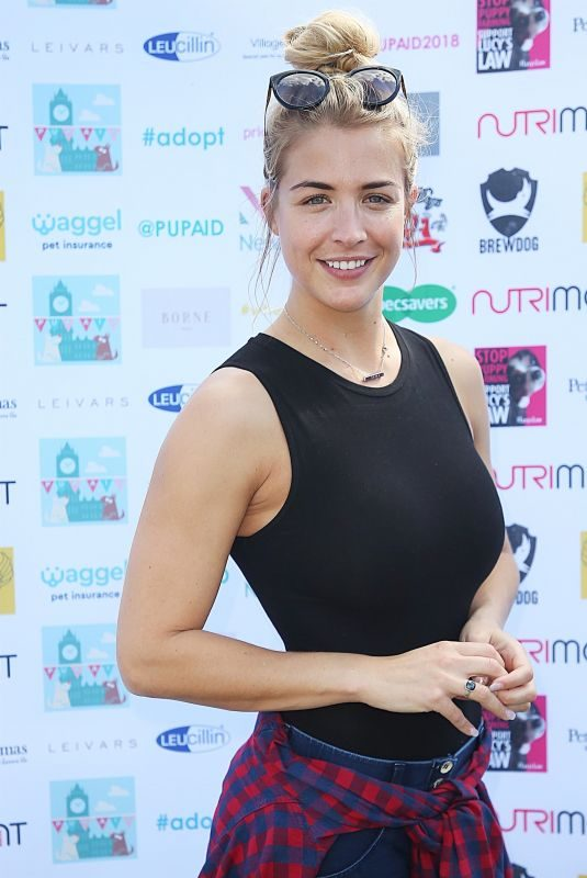 GEMMA ATKINSON at Pup Aid Puppy Farm Awareness Day 2018 in London 09/01/2018