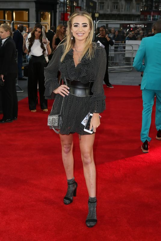 GEORGIA HARRISON at The Intent 2: The Come Up Premiere in London 09/19/2018