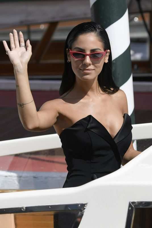 GIULIA DE LELLIS Arrives at 2018 Venice Film Festival 09/02/2018