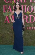 GIULIA VALENTINA at Green Carpet Fashion Awards in Milan 09/23/2018