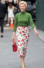 GRETCHEN MOL Out at New York Fashion Week 09/12/2018