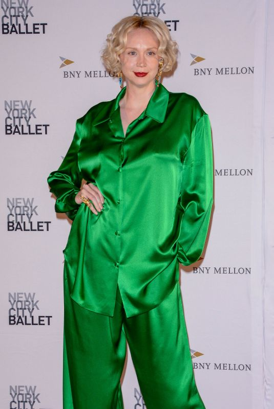 GWENDOLINE CHRISTIE at 2018 Ballet Fall Gala in New York 09/27/2018