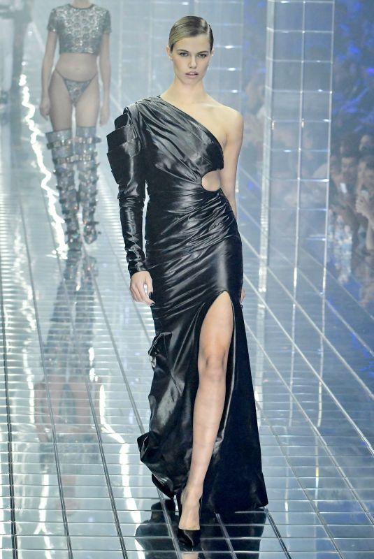 HAILEY CLAUSON at Philipp Plein Runway Show at Milan Fashion Week 09/21/2018