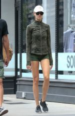 HAILEY CLAUSON Out and About in New York 09/02/2018