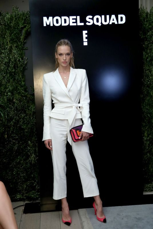 HANNAH FERGUSON at Model Squad Cocktail Party in New York 09/06/2018