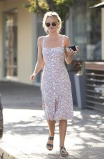 HAYLEY ROBERTS Out and About in Calabasas 09/27/2018