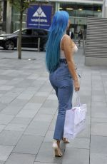 HELEN BRIGGS Out in Manchester 09/06/2018