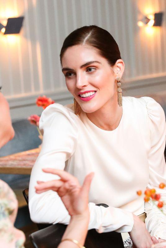 HILARY RHODA at Zimmermann Celebrates Spring 2019 Pre-show Dinner in New York 09/04/2018