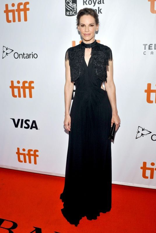 HILARY SWANK at What They Had Premiere at Toronto International Film Festival 09/12/2018