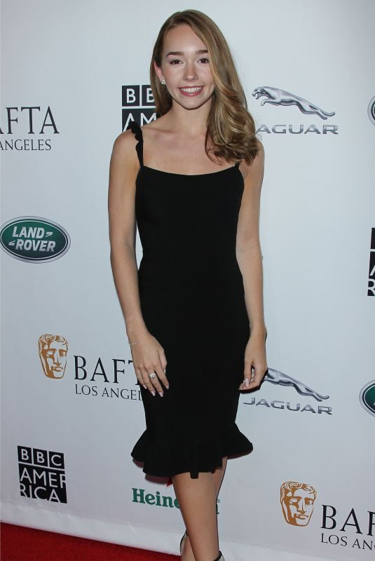 HOLLY TAYLOR at Bafta LA + BBC America TV Tea Party in Beverly Hills 09/15/2018
