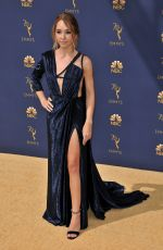 HOLLY TAYLOR at Emmy Awards 2018 in Los Angeles 09/17/2018