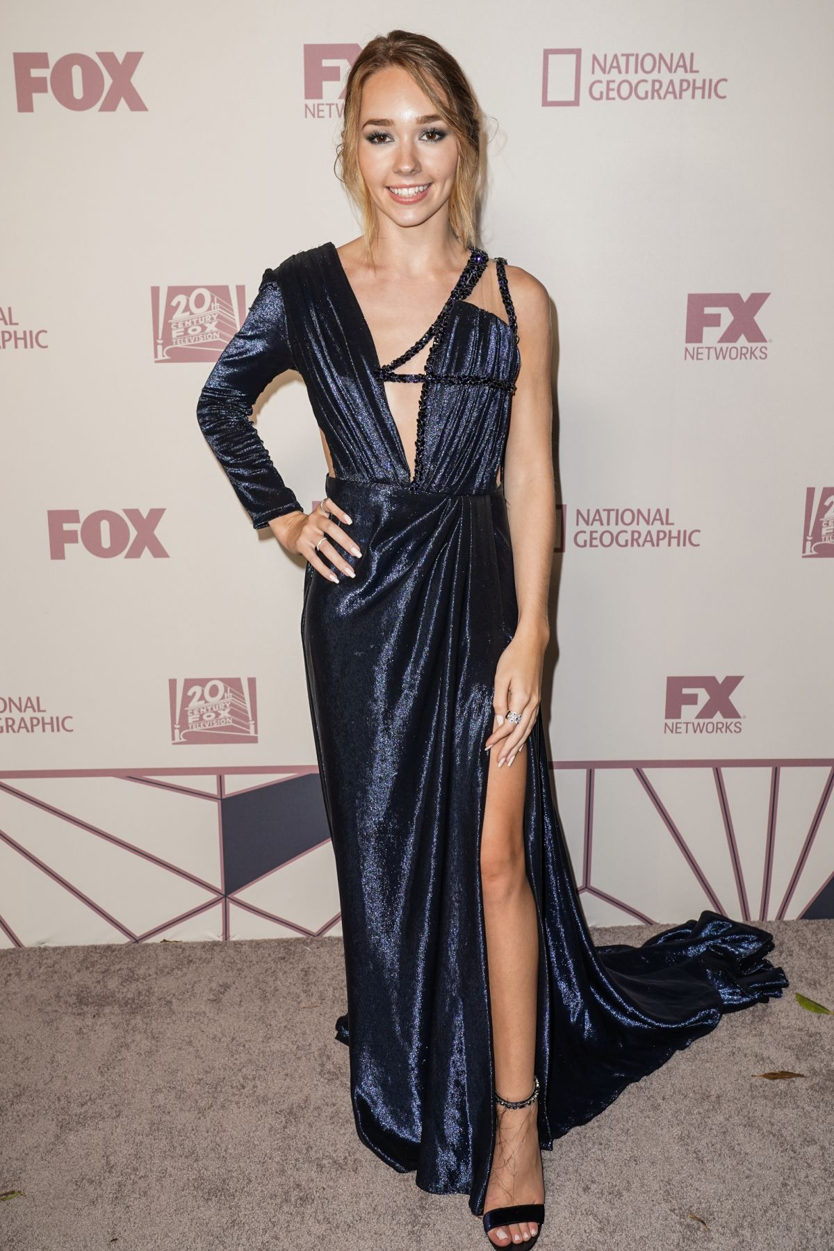 HOLLY TAYLOR at Fox Emmy Awards Party in Los Angeles 09/17/2018 - HawtCelebs
