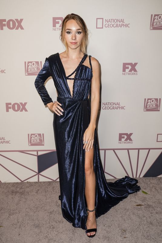 HOLLY TAYLOR at Fox Emmy Awards Party in Los Angeles 09/17/2018