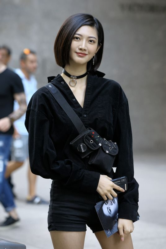 I-HUA WU at Casting Call for Victoria's Secret 2018 Fashion Show 2018 in New York 08/30/2018