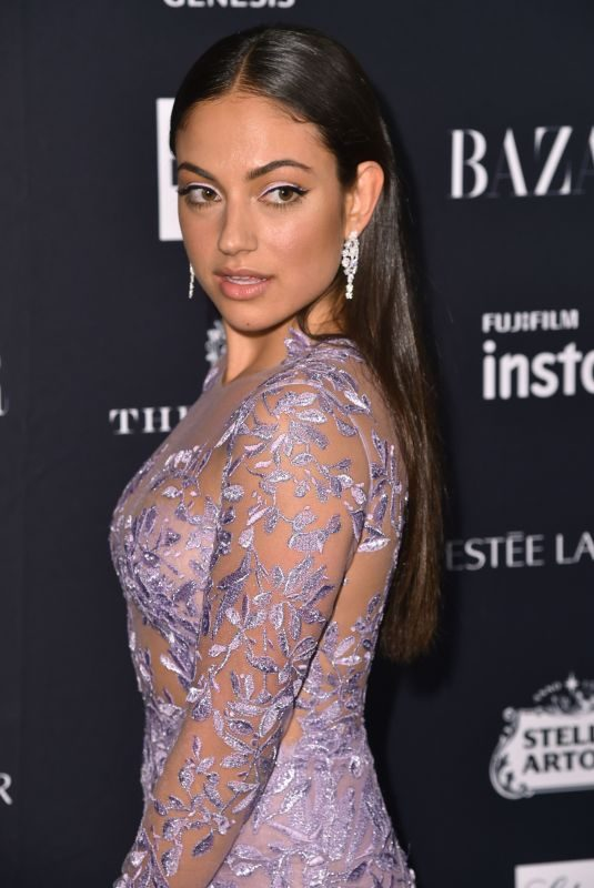 INANNA SARKIS at Harper's Bazaar Icons by Carine Roitfeld Event in New York 09/07/2018