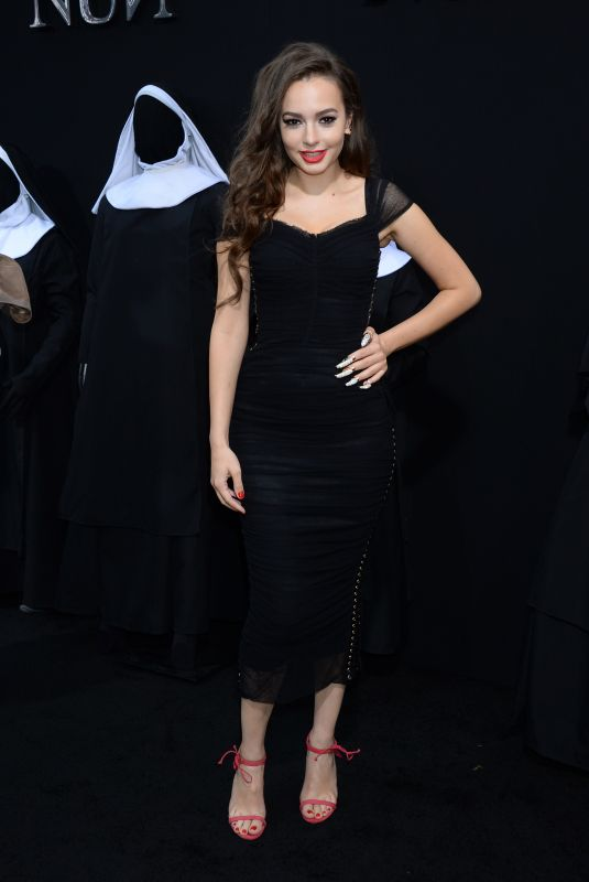 INGRID BISU at The Nun Premiere in Hollywood 09/04/2018