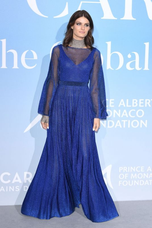 ISABELI FONTANA at Gala for the Global Ocean in Monte Carlo 09/26/2018