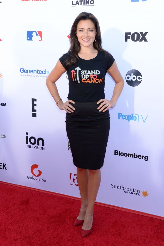 ITALIA RICCI at Stand Up to Cancer Live in Los Angeles 09/07/2018