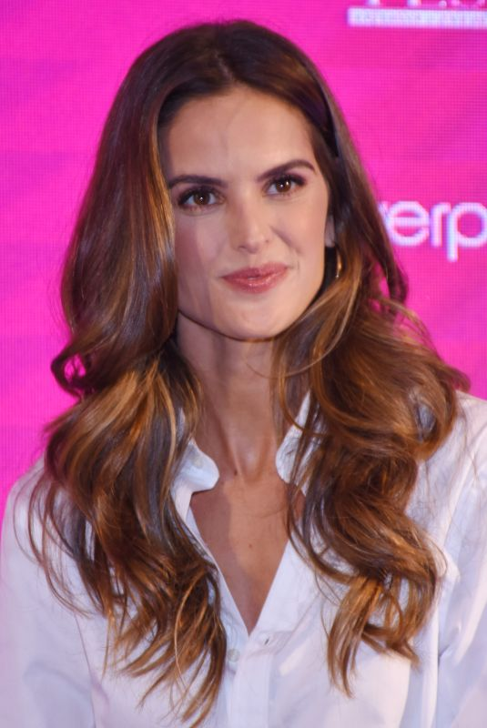 IZABEL GOULART at Liverpool Fashion Fest Press Conference in Mexico City 09/11/2018