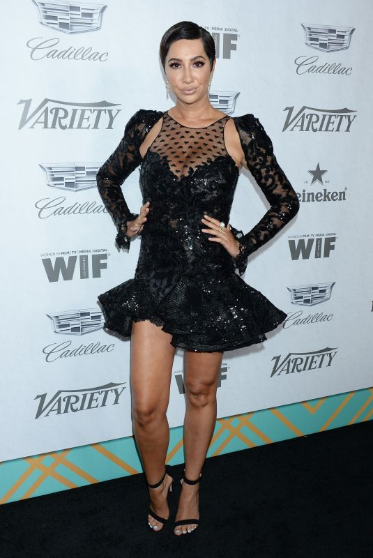 JACKIE CRUZ at Variety & Women in Film