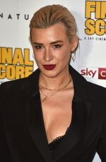 JAHANNAH JAMES at Final Score Premiere in London 08/30/2018