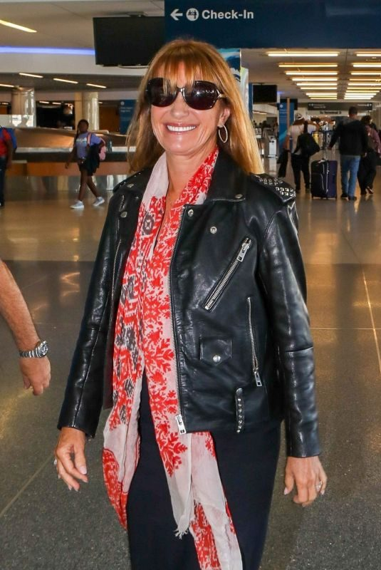 JANE SEYMOUR at LAX Airport in Los Angeles 09/14/2018