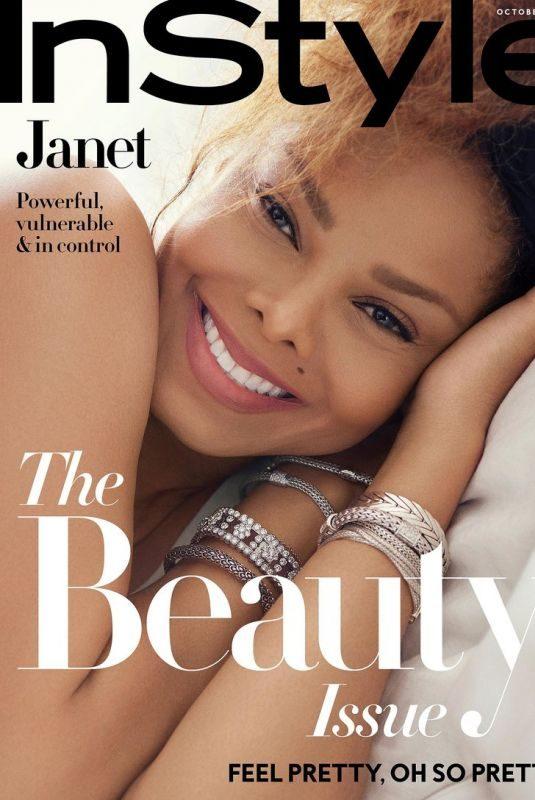 JANET JACKSON for Instyle Magazine, October 2018
