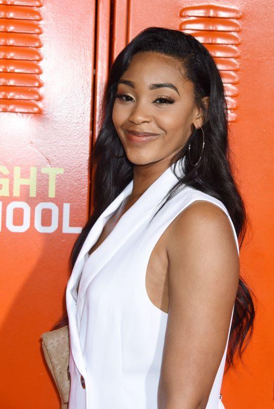 JASMINE LUV at Night School Premiere in Los Angeles 09/24/2018