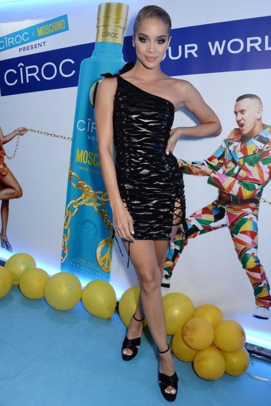 JASMINE SANDERS at Ciroc x Moschino Party at Milan Fashion Week 09/20/2018