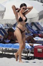 JASMINE TOSH in Bikini at a Beach in Miami 09/17/2018