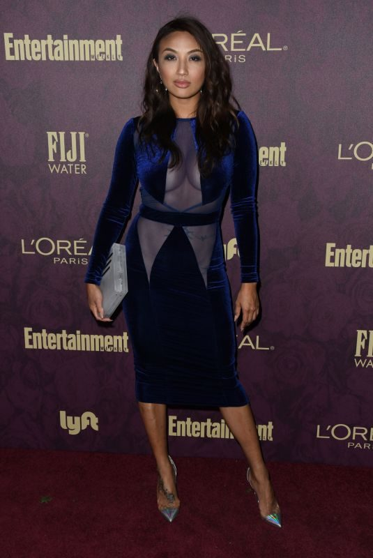 JEANNIE MAI at EW and L'Oreal Paris Pre-emmy Party in Hollywood 09/15/2018