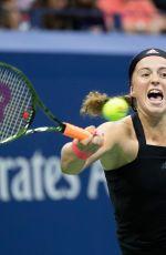 JELENA OSTAPENKO at 2018 US Open Tennis Tournament in New York 09/02/2018