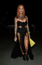 JEMMA LUCY Night Out in Manchester 09/02/2018