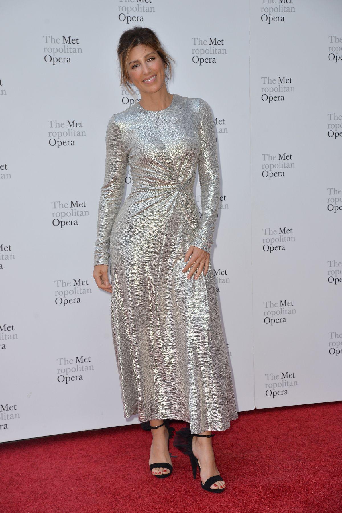 JENNIFER ESPOSITO at Metropolitan Opera Opening Night in ...