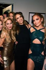 JENNIFER LOPEZ and Friends on the Backstage of Her Show in Las Vegas 09/22/2018
