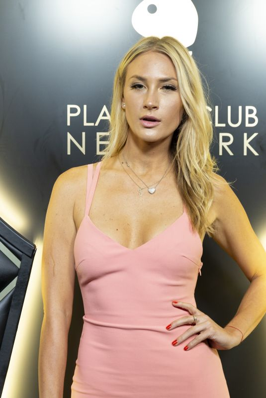 JESSICA FARROW at Playboy Club New York Opening 09/12/2018