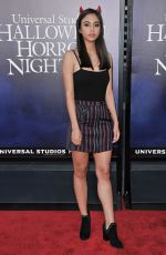 JESSICA GARZA at Halloween Horror Nights Opening in Los Angeles 09/14/2018