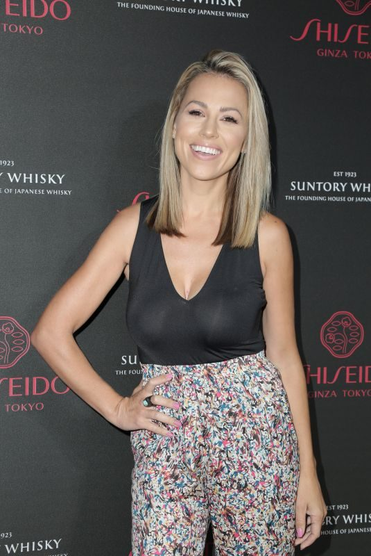 JESSICA HALL at Shiseido Makeup Launch in Los Angeles 09/25/2018