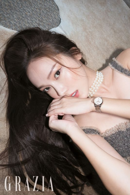 JESSICA JUNG in Grazia Magazine, Korea October 2018
