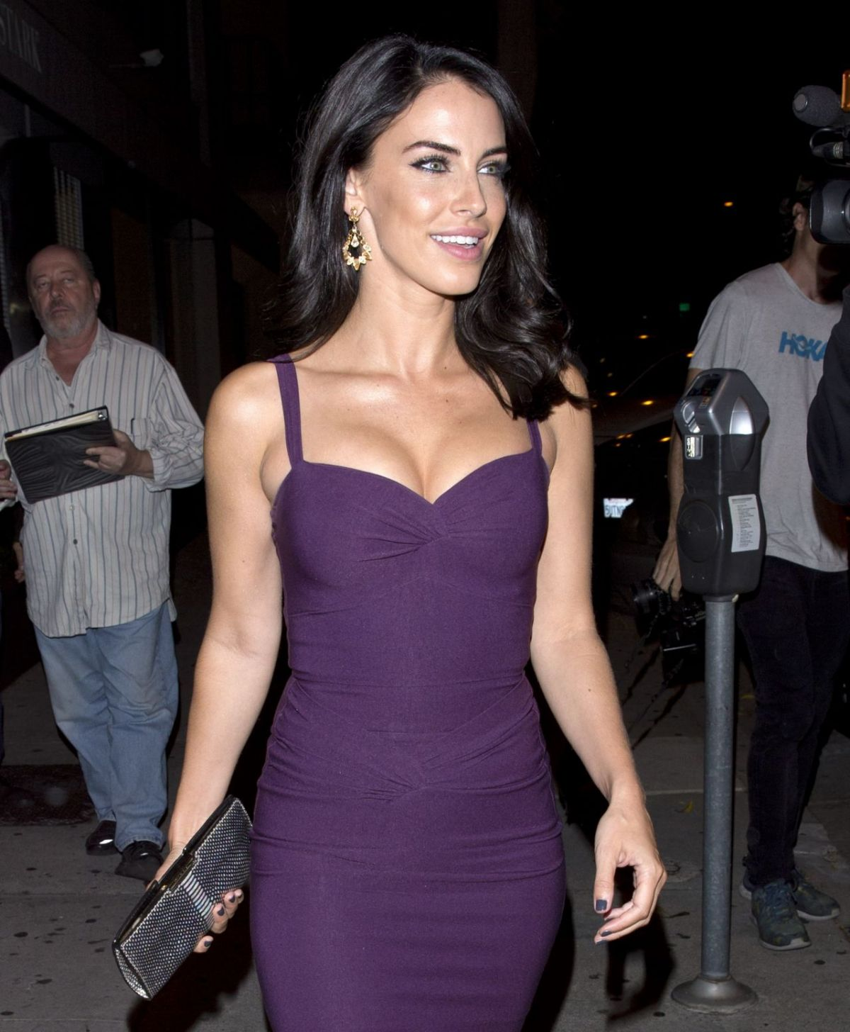 Jessica lowndes arriving at bunga bunga in covent garden in london new images