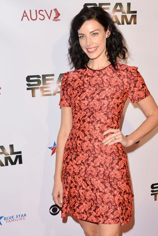 JESSICA PARE at Seal Team, Season 2 Premiere in Los Angeles 09/25/2018