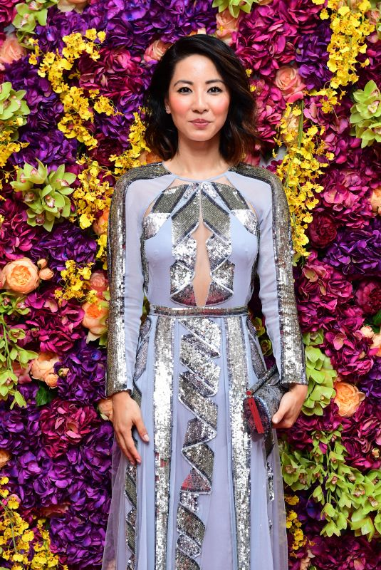 JING LUSI at Crazy Rich Asians Premiere in London 09/04/2018