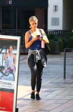 JOANNA KRUPA Arrives at a Gym in West Hollywood 09/24/2018