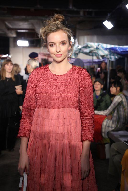 JODIE COMER at Molly Goddard Show at London Fashion Week 09/15/2018