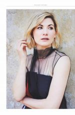 JODIE WHITTAKER in Marie Claire Magazione, UK  October 2018 Issue